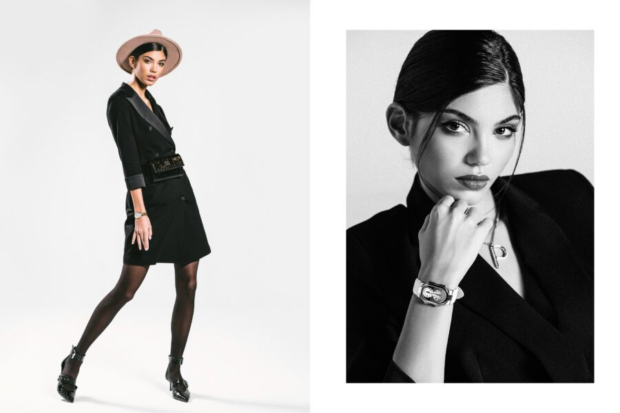 """<span>Product shooting & Campaign</span>""""Black magic"""" for Philip Stein"""