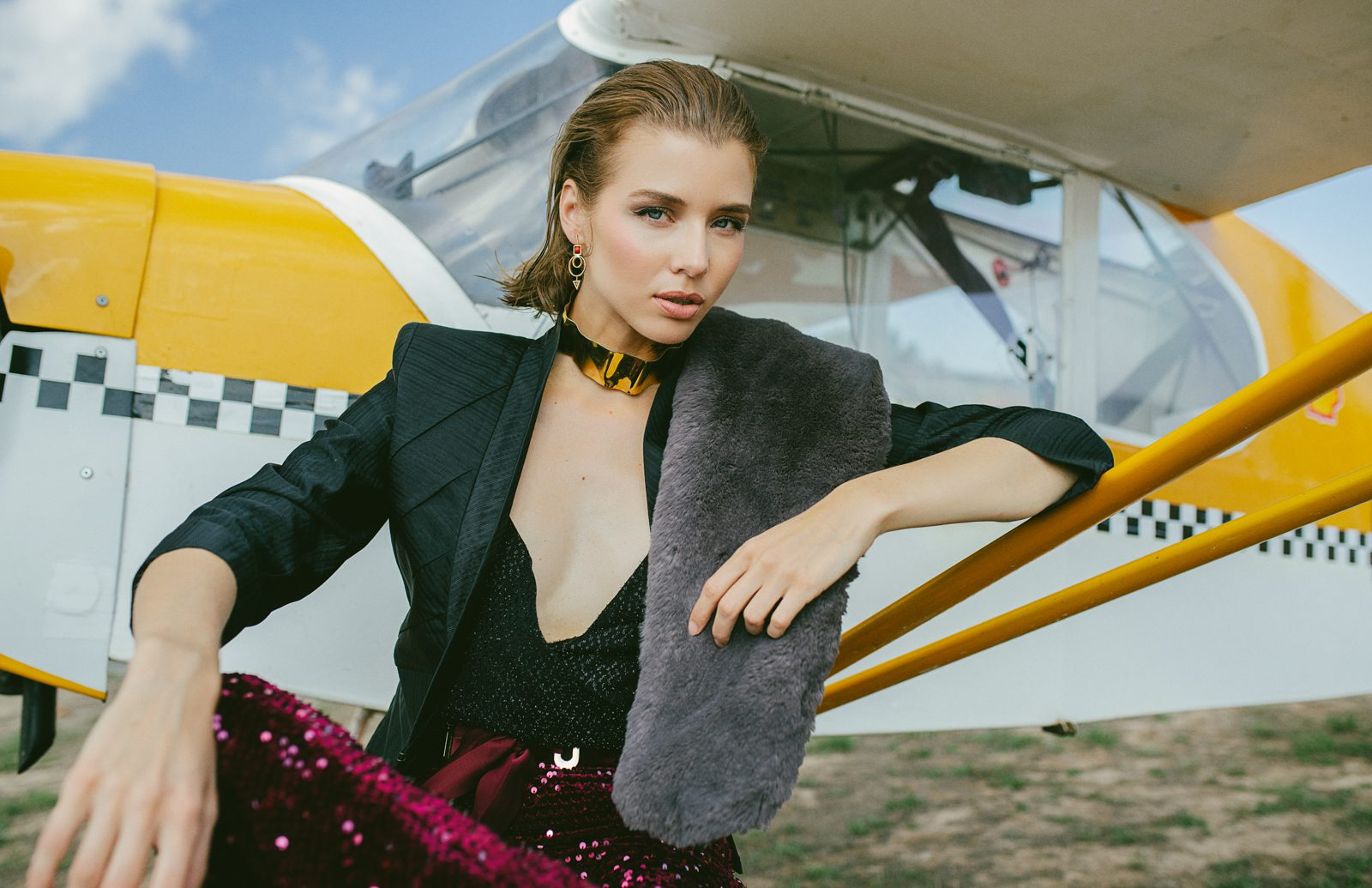 "<span>Editorial</span>""JUST FLY"" for GLAMOUR magazine"